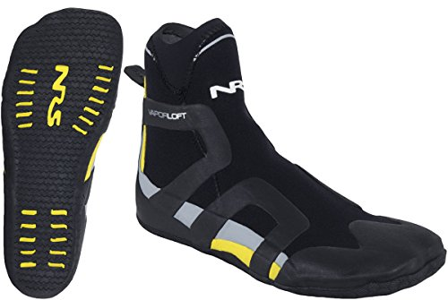 NRS Freestyle Wetshoe Black / Yellow 9