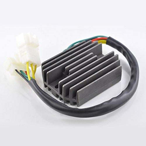 Voltage Regulator Rectifier For Honda CBR 900 954 RR/VTX 1800 2002-2008 CBR900RR CBR954RR VTX1800 VTX1800C VTX1800F VTX1800N VTX1800R VTX1800S VTX1800T OEM Repl.# 31600-MCH-000 31600-MCJ-750