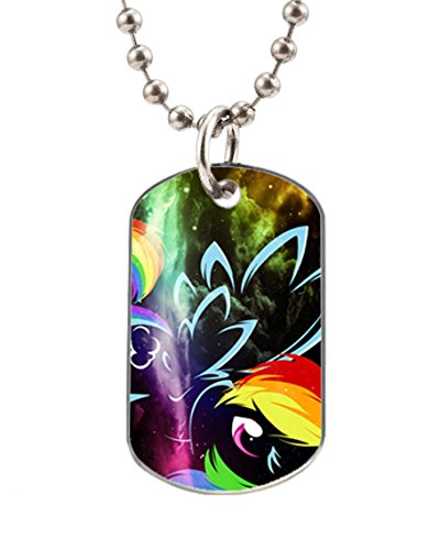 My Little Pony Rainbow Dash Customized Dog Tag Pet Tags Dogtag Necklace Charm Unique Gift