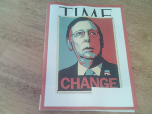 Time Magazine November 17  2014   Change With Mitch Mcconnell