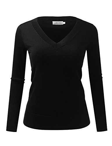 because-i-love-you-womens-classic-v-neck-slim-fit-soft-pullover-long-sleeve-sweater