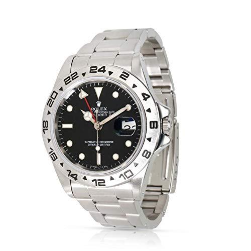 Rolex Explorer II Automatic-self-Wind Male Watch 16550 (Certified Pre-Owned)