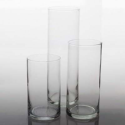 Eastland Cylinder Floating Candle Vase Set of 36