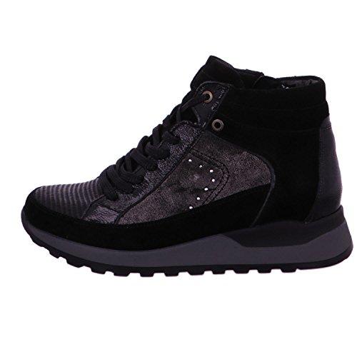Waldläufer 364801-400-001 - Botas para mujer negro