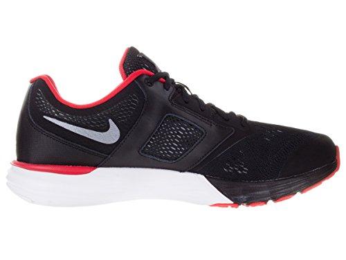 Nike Mens Tri Fusion Run Scarpa Da Corsa Nero / Università Rosso / Bianco / Grigio Freddo