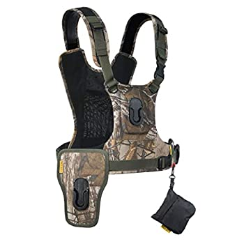 Image of Camera & Camcorder Straps Cotton Carrier CCS G3 2 Camera Harness Realtree Xtra Camo