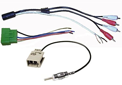 car radio wiring harness adapters likewise car stereo universalamazon com factory amp interface with wire harness cable plug car radio wiring harness adapters likewise car stereo universal wiring