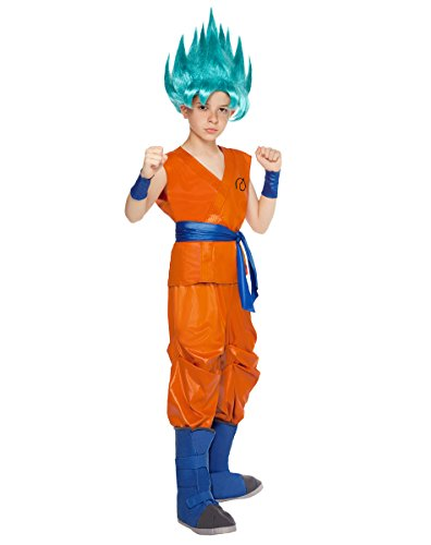 Goku Costume Child (Spirit Halloween Kids Goku Costume - Dragon Ball Z Resurrection)