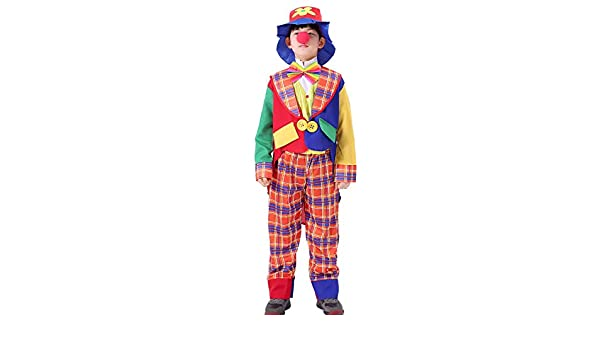 Joyplay Disfraz De Payaso para Nino Disfraz De Circo Divertido ...