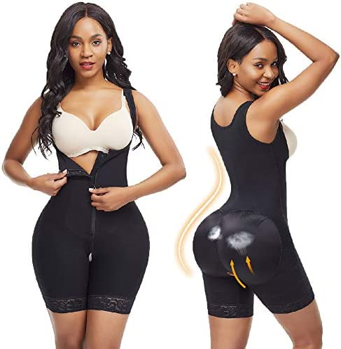 Wonder-Beauty Shapewear for Women Tummy Control Body Shaper Seamless Bodysuit Butt Lifter Shaper