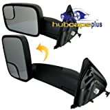 2002, 2003 Dodge Ram 1500 Base Driver Side Mirror Head Assembly - Power Heated W/ Towing Package New Body Style