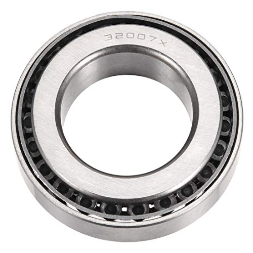 (uxcell 32007X Tapered Roller Bearing Cone and Cup Set, 35mm Bore 62mm OD 18mm Thickness )