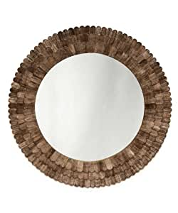 Bliss studio scalloped mica wall mirror home for Mirror 0 zfs