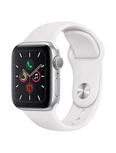 Apple Watch Series  GPS  40mm  Silver Aluminum Case with White Sport Band
