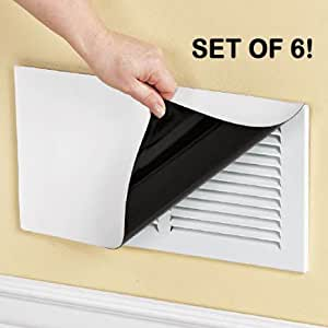 8 x 15 magnetic vent cover 6 pack heating vents for 3 bathroom vent cover