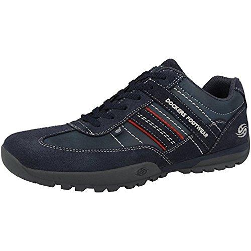 Dockers Par Des Hommes Gerli 36ht001 Chaussures Bleu Marine (36ht001-204660)