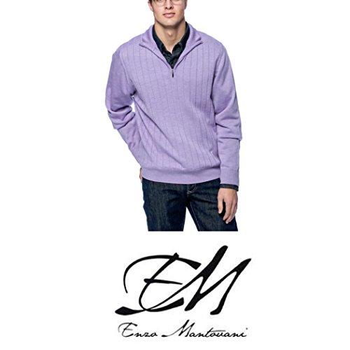 enzo-mantovani-mens-italian-merino-wool-quarter-zip-sweater-made-in-italy-small