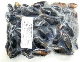 アイルランド産ボイル殻付ムール貝 60から80粒入り 1Kg