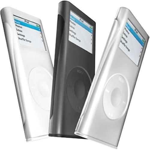 fundas para mp3//mp4 iSkin Groove Pack 3 for iPod Nano 2G
