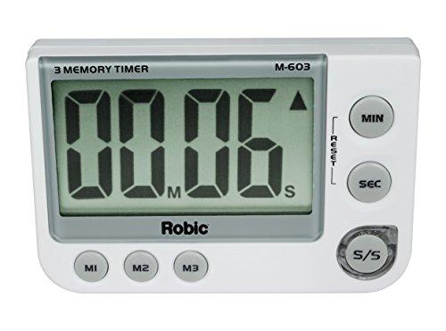 Robic Three Memory Timer (Memory Stopwatch Timer)