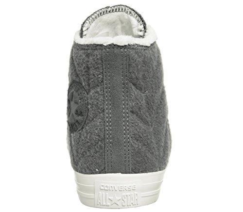 Converse Unisex Adults' M3310 Hi-Top Trainers Charcoal Stitch Fur b5s1ll