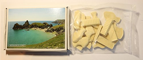 Ye Old Cornish Kynance Cove White Chocolate Fish N Chips Eng