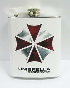 Resident Evil Umbrella Corp 7 oz Stanless Steel Flask
