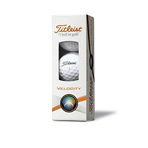 - Titleist Velocity Sleeve of 3 golf balls