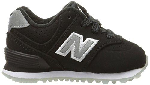 Nuovo Equilibrio Unisex-kinder Kl574wtg M Sneakers Nero / Nero