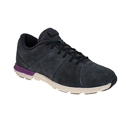 Asics Gel Mylonite - Zapatillas de paseo para mujer, color negro, blanco y lila - grau, weiß