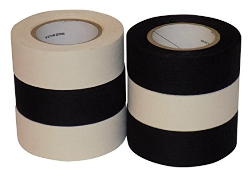 Price comparison product image Mylec Player's 6 Pack Tape Black / White