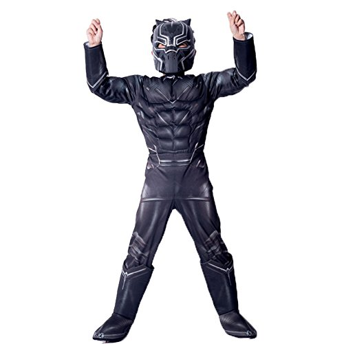 Hallowmax Deluxe Marvel Black Panther Child's Costume Outfits for $<!--$34.99-->