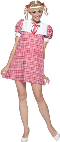 Brady Bunch Cindy Adult Costume - Standard for $<!--$16.40-->