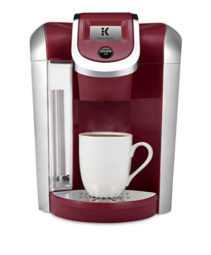 Keurig K400 Coffee Maker, Red (Certified Refurbished)