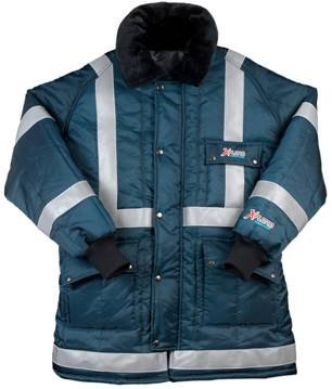 reflective work coats insulated - 2