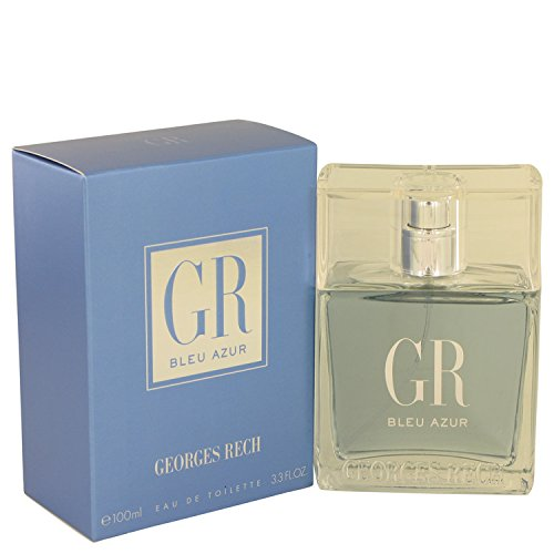 Georges Rech Blue Azur 3.3 Oz Eau De Toilette Spray für Men