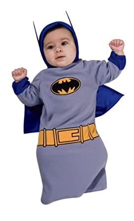... Baby Boys  sc 1 st  Amazon.com & Amazon.com: Rubieu0027s Batman The Brave And The Bold Baby Bunting ...