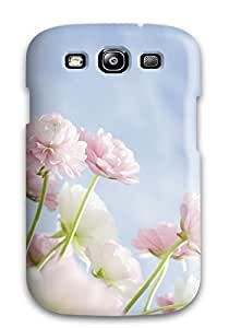 New Tpu Hard Case Premium Galaxy S3 Skin Case Cover(flower S )