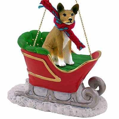 Basenji Dog Breed Christmas Tree Ornaments