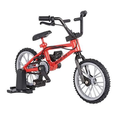 (Decor Mini Mountain Bike Model Toys for 1/10 Traxxas Axial Tamiya RC Crawler)