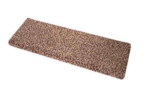 Dean Premium Pet Friendly Tape and Adhesive Free Non-Slip Bullnose Carpet Stair Treads - River's Edge (3) (36 (River Edge Rug)
