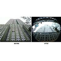 Fisheye Lens for JVC GC-PX10, JVC GY-HM100, JVC GY-HM100U, JVC GY-HM100E, JVC GZ-HD3, JVC GZ-HD3E