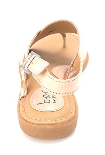 Pink Split Casual Womens c o Leather Toe gold Combo Slingback Light B Blush Sandals Lowrey w0PXwq