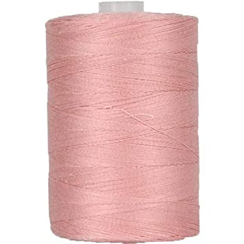 Threadart 100/% Cotton Thread 50 Colors Available and Serging For Quilting Sewing Color DENIM BLUE 1000M Spools 50//3 Weight