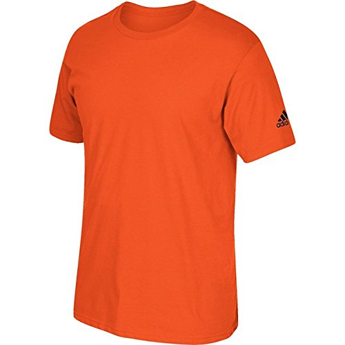 Adidas Volwassen T-shirt Met Korte Mouwen En Logo Oranje
