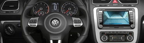 510 Kufatec 36492-2 retromarcia interfaccia della fotocamera per Skoda e Volkswagen RNS RNS 315