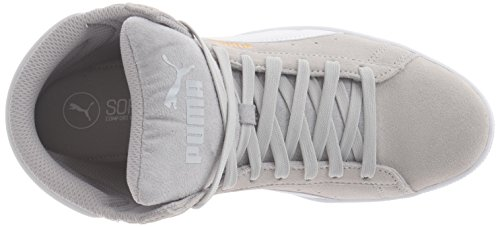 Mid puma Sfoam Puma Fashion White Women's Gray Sneaker Violet Vikky qttr8wE