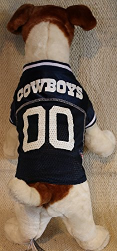 Pets First Dallas Cowboys Dog Jersey Licensed NFL (XXL)