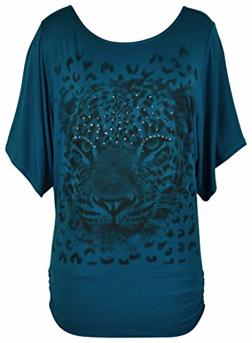 Purple Hanger - Camiseta de manga larga - para mujer Turquesa turquesa