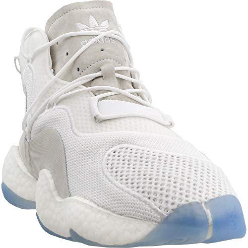 479761b4fcbdd adidas Originals Crazy BYW Shoe - Men s Casual 10.5 White Black Real Purple